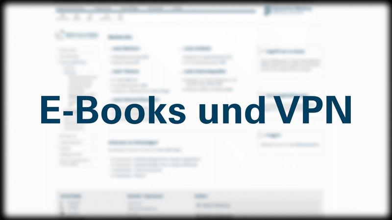 Link zum Video E-Books und VPN